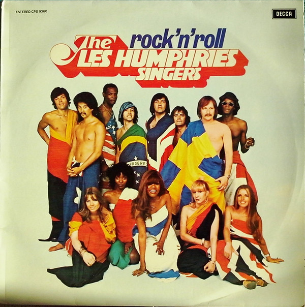 Album Cove+ 1974 LP <I>Rock 'n' Roll Party</I> Decca SLK 17065 (Germany)<BR>+ 1974 LP <I>Rock 'n' Roll Party</I> Decca CPS 9360 (Spain)<BR>+ 1974 LP <I>Rock 'n' Party</I> Decca SLKI 17065-P (Italy)<BR>+ 1975 LP <I>Rock 'n' Roll Party</I> Decca 54833 (Spain)<BR>+ 1975 LP <I>Rock 'n' Roll Party</I> Peerless 1834 (Mexico)<BR>r