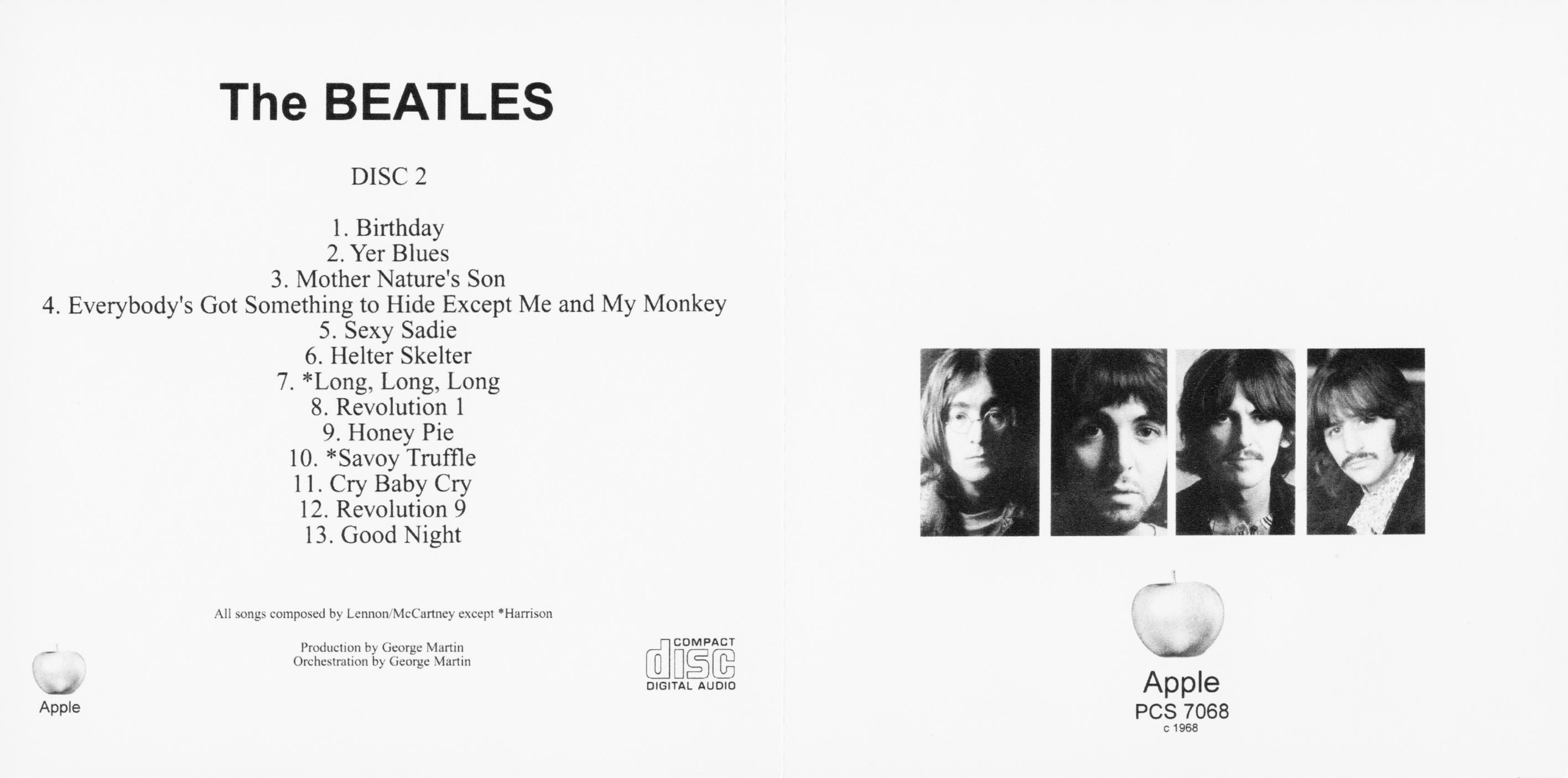 Afbeeldingsresultaat voor The Beatles - White Album (1968)